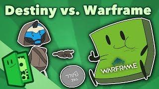 Destiny vs. Warframe - $500 Million in Free Marketing - Extra Credits