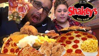 ⚠️🍕CHEESY Pizza | Fried Chicken MUKBANG | Pepperoni Pizza | Pizza Buffet Pizza Hut Cheesy bites