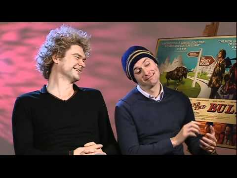 Simon Farnaby and Edward Hogg interview-Bunny and the Bull ...