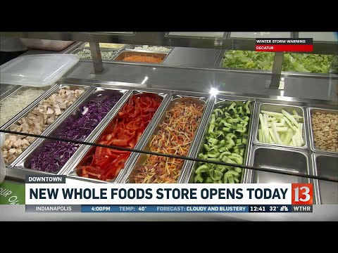 Whole Foods Opens In Downtown Indianapolis