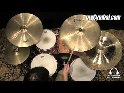 Used Bosphorus Hammer Series Cymbal Set (USET-1081214B)