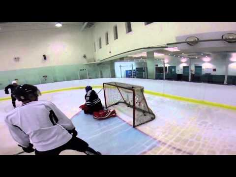 Ice Hockey at Sobell Centre in London, 2014