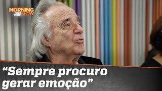 """""""Em cada nota ponho a alma e o coração"""", diz maestro João Carlos Martins"""