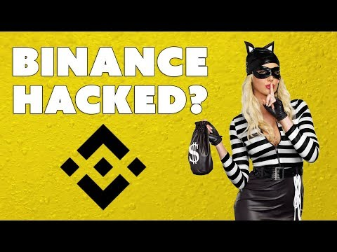 Binance Hacked?  What To Do Next...