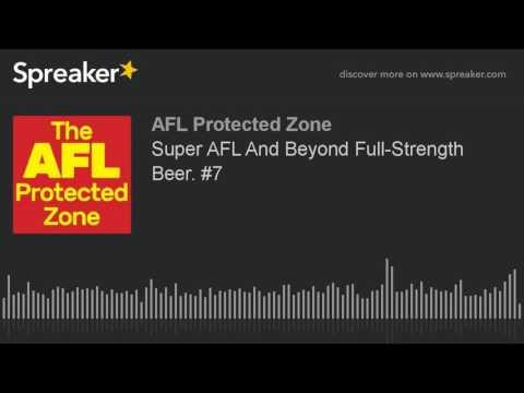 Super AFL And Beyond Full-Strength Beer. #7