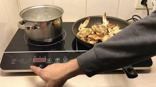 Обзор индукционной плиты hausmark