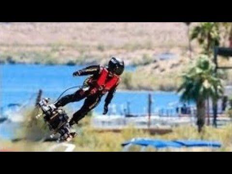 【フライボード】え!人が空を飛ぶ!?空気圧で空を飛ぶフライボード・エアがスゴい!【衝撃】