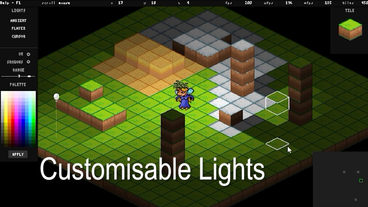 Isometric Lighting Engine (FUSION 2 5)