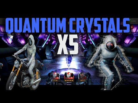 5x Ghost FGMC's - Quantum Crystal Opening - Marvel Contest of Champions