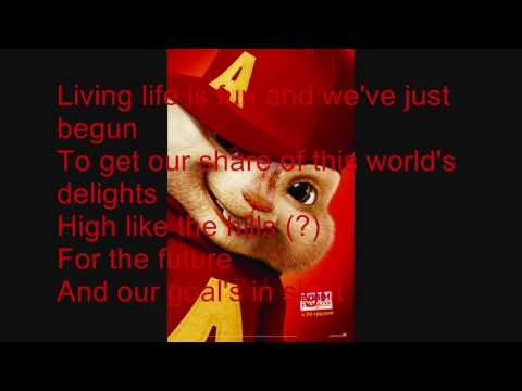 We are family - The Chipmunks & The Chipettes With Lyrics