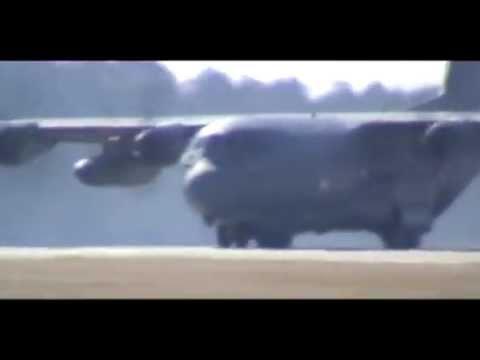 HC-130 take off
