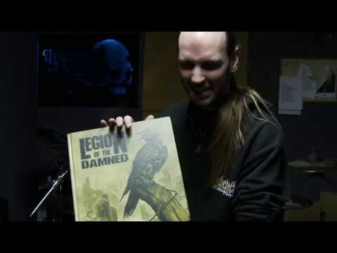 "LEGION OF THE DAMNED ""Ravenous Plague"" Earbook Unboxing 