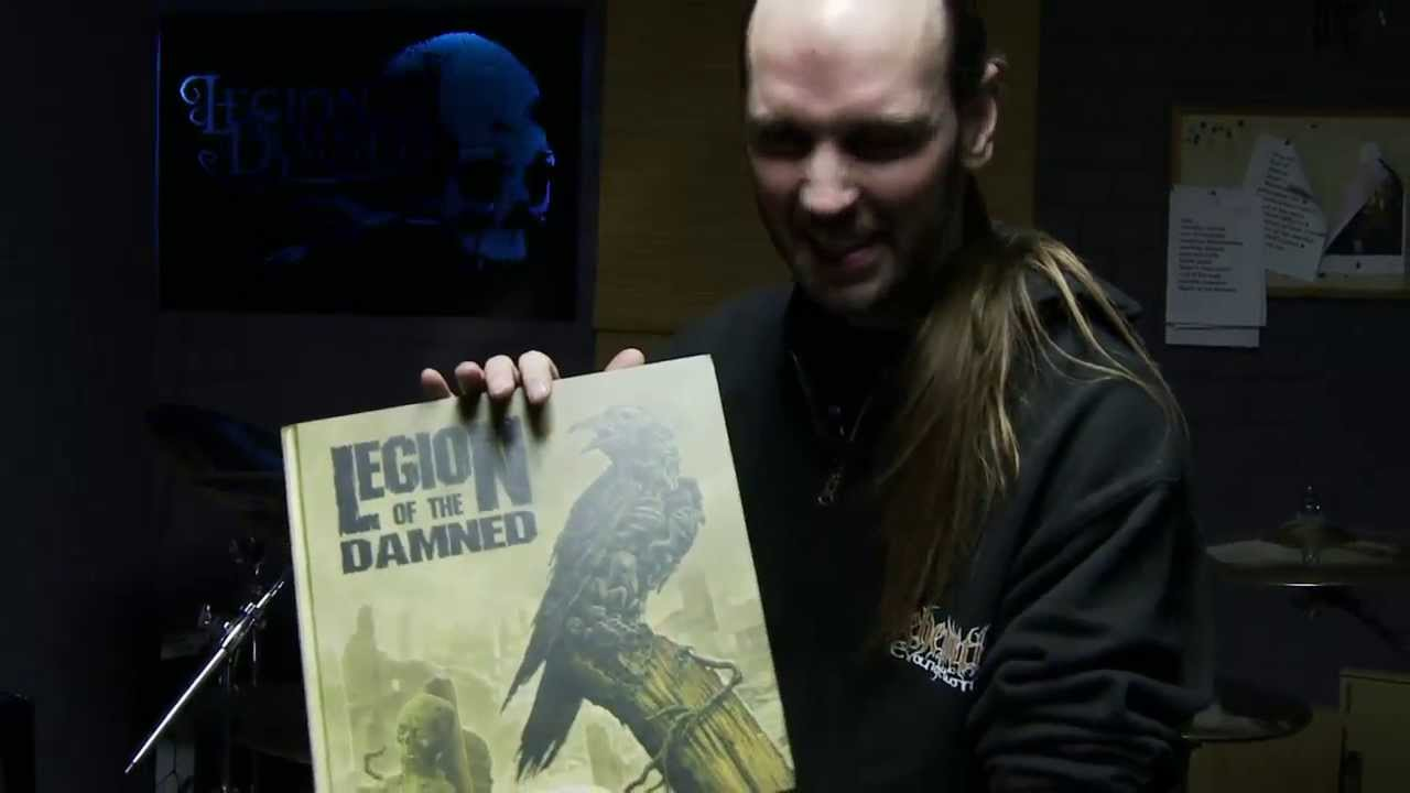 """LEGION OF THE DAMNED """"Ravenous Plague"""" Earbook Unboxing 