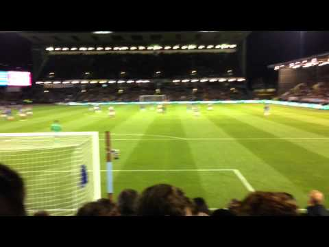 Chelsea fans at Burnley - Drogba returns