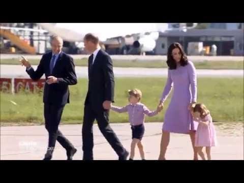 Auf Wiedersehen Kate und William Bye bye - Royal Visit - Hamburg