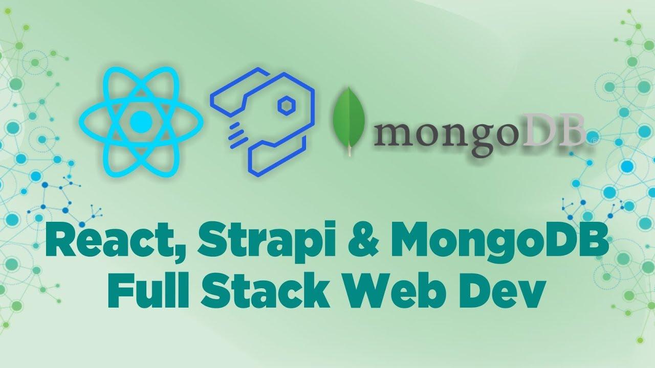 React, Strapi & MongoDB