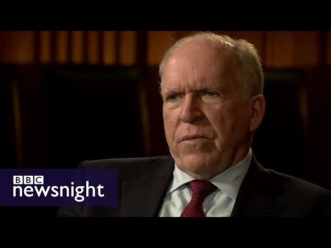 John Brennan: Donald Trump's travel ban 'simplistic and misguided'  - BBC Newsnight