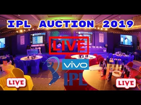 IPL Auction Live : Vivo IPL Auction 2019 (Live) || Indian Premier League ||  Cricsports360