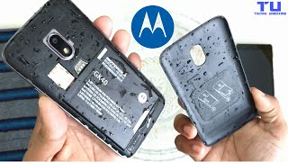 Moto G4 Play Water Test - Will It Survive ?