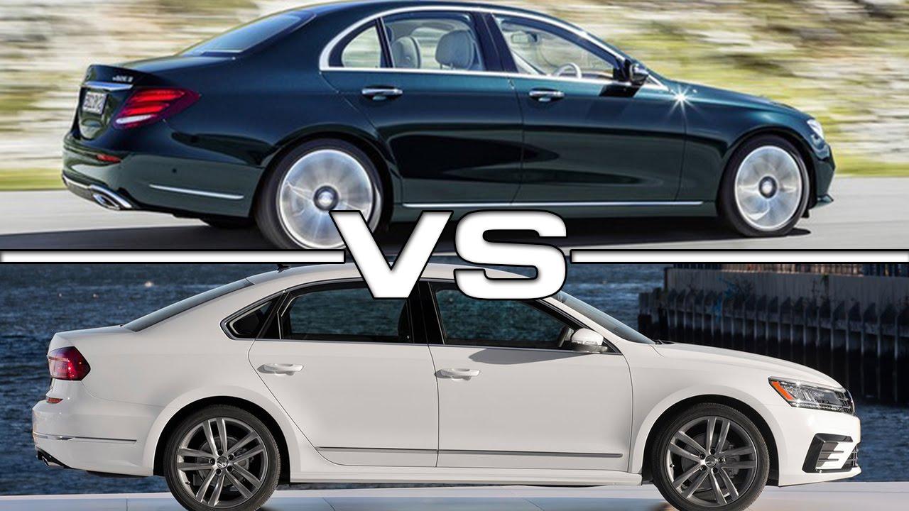 Mercedes benz e class vs vw passat youtube for Mercedes benz volkswagen