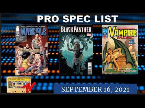 Top Ten Pro Spec List | September 16th 2021 | Modern Comic Book Speculation