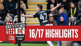 Match Highlights: Burton Albion 3 Brentford 5