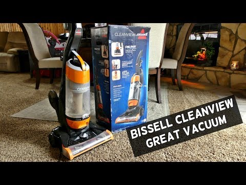Bissell CleanView Bagless Upright Vacuum with OnePass Technology Product Review