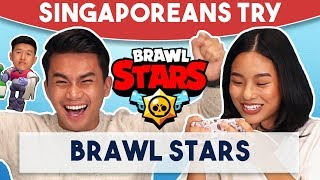 Singaporeans Try: Brawl Stars