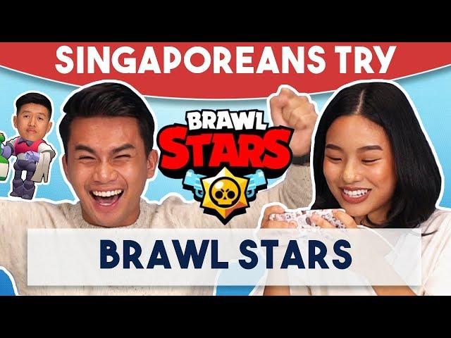 Singaporeans Try: Brawl Stars