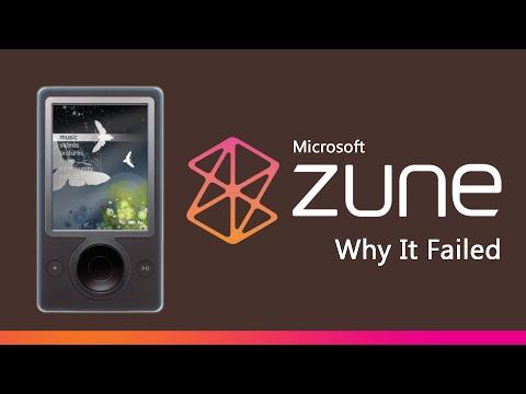 Microsoft Zune - Why It Failed