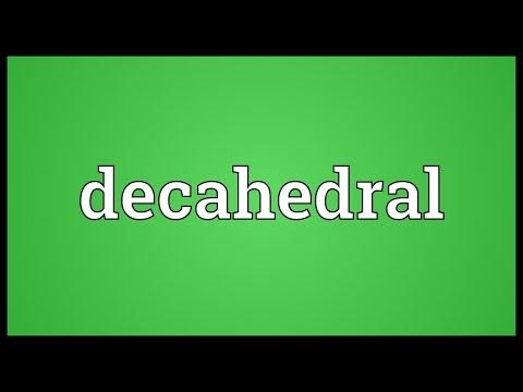 Header of decahedral