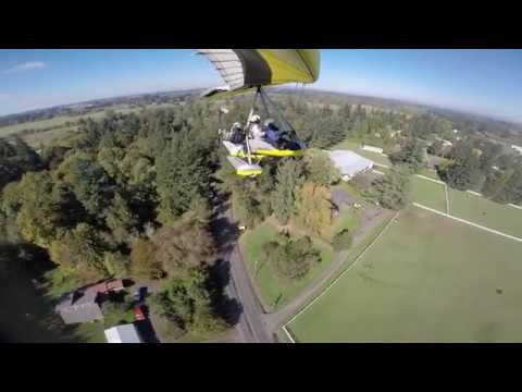 Lenhardt Airpark Trike flight with Ray Berger