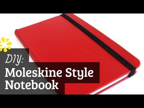 DIY Moleskine Style Notebook | Case Bookbinding Tutorial | Sea Lemon