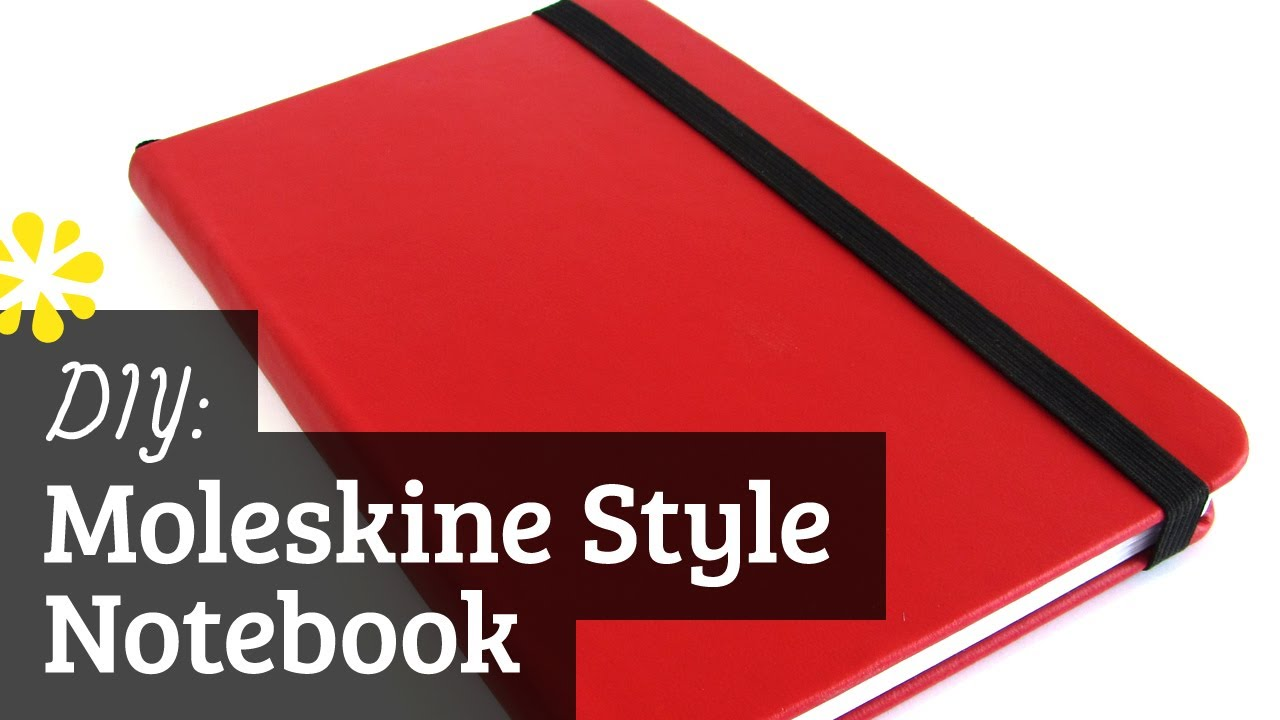Diy moleskine style notebook case bookbinding tutorial sea diy moleskine style notebook case bookbinding tutorial sea lemon youtube solutioingenieria Choice Image