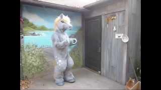 Gray Dapple Horse Costume