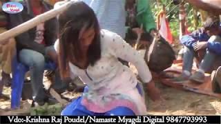 केराकाे फेद मुनी देखाइन यि नानीले बब्बाल डान्स् । Panche Baja At Pang Parbat