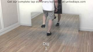 Dig Tap Dance Move by Shown Rod Howell
