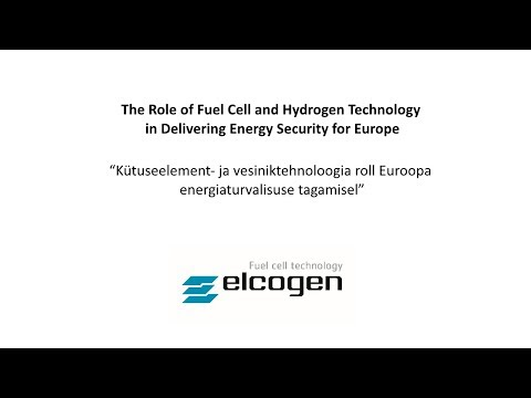 The Role of Fuel Cell and Hydrogen Technology in Delivering Energy Security for Europe