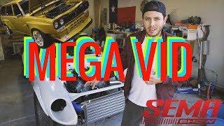 SEMA / 240Z BUILD MEGA VIDE0