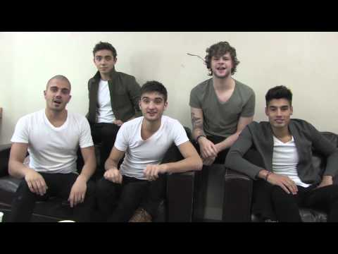 The Wanted - Thank You Message!