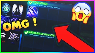 [OMG !] JE DONNE MON MYSTERY DECAL A MON POTE ! - Rocket league (Pack Opening)