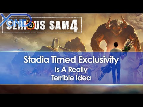 Stadia Timed Exclusivity Announced For Serious Sam 4 On Consoles, And It's A Terrible Idea