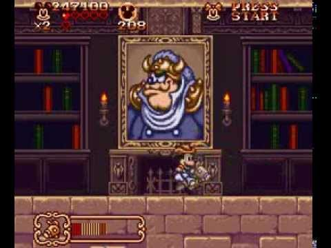 snes mickey mouse magical quest rom