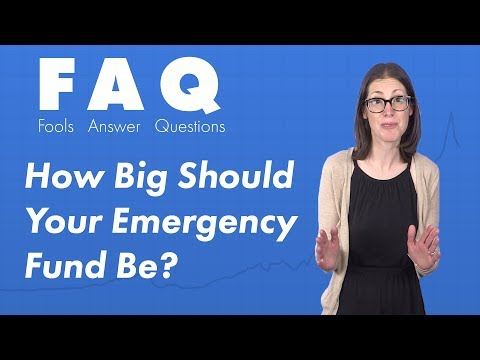 How Much Money Should I Have Saved in My Emergency Fund?