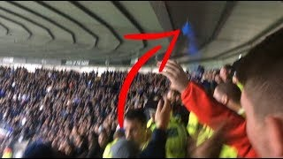 DERBY VS SHEFFIELD WEDNESDAY HOME VLOG//CROWD TROUBLE!