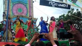 chaka chaka cham chaka telugu  DJ remix song stage dance HD