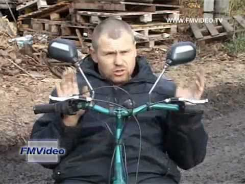 видео: 111019 Веломобилист