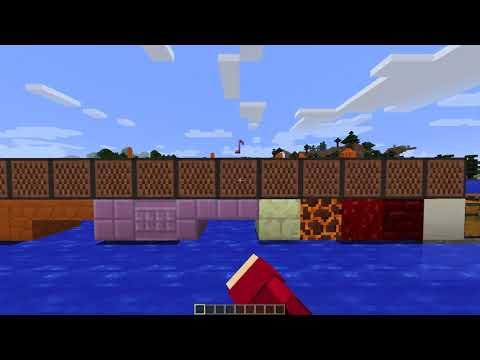 The many sounds of note blocks in Minecraft 2