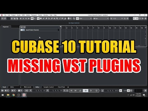 Cubase 10 Missing Plugins Tutorial [ How To Install VST Effects / Instruments ]