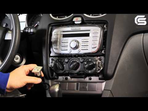 adding mp3 aux usb input to ford cd6000 radio fitting. Black Bedroom Furniture Sets. Home Design Ideas